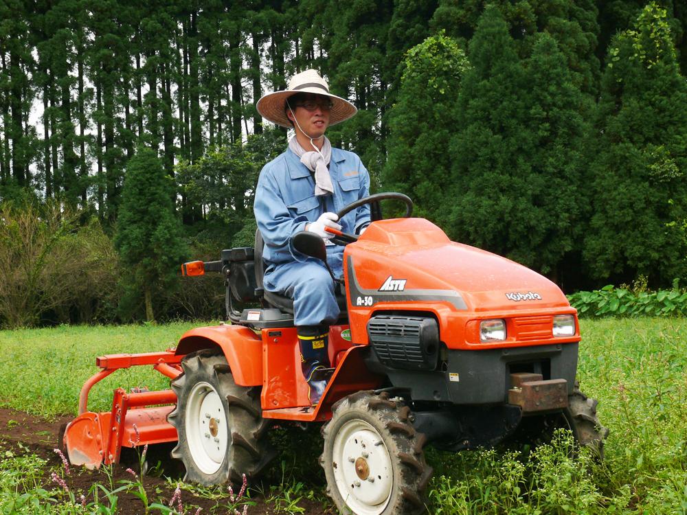 今は農業の勉強中。野菜や農作物にかかわる仕事がしたい!