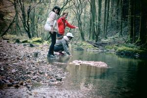 悠久の森散策