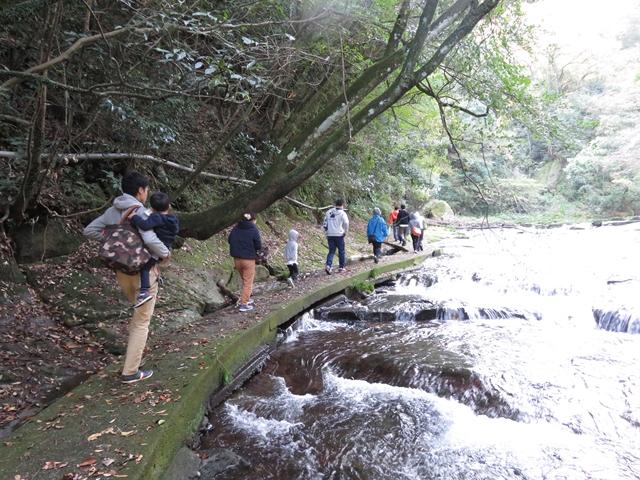 大川原峡散策