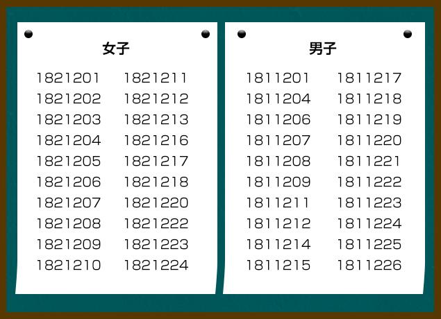 181216恋活合格発表