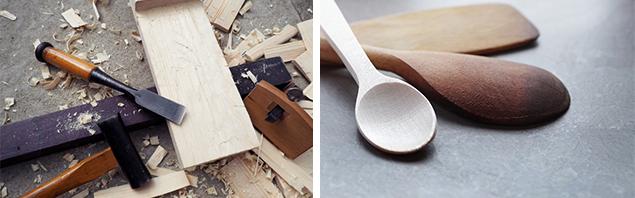 親子で木工ワークショップ~世界に一つだけのオリジナルスプーンを作ろう~